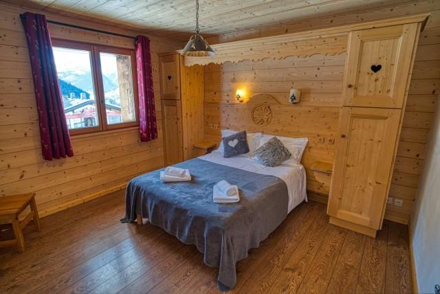 chalet les deux vallées  chambre  Châtel Haute-Savoie