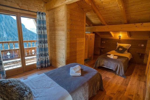 chalet les deux vallées chambre Châtel station de ski