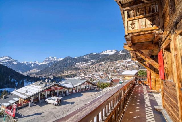 chalet les deux vallées extérieur Châtel 74 station de ski
