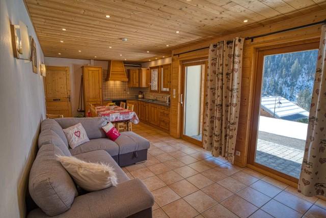 chalet les deux vallées salon  Châtel 74 Haute Savoie