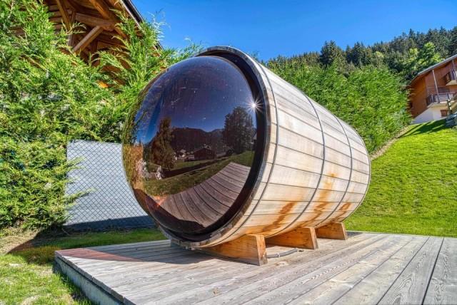 Chalet Les Oisillons Châtel Sauna 2