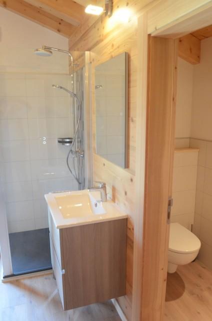 Chalet les sources, chambre 1 lit double (140x190) à l'étage, Châtel France