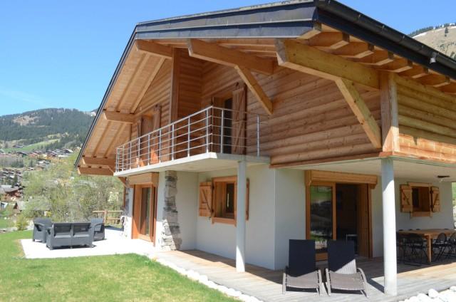 Chalet les sources, Terrasse Châtel Haute Savoie