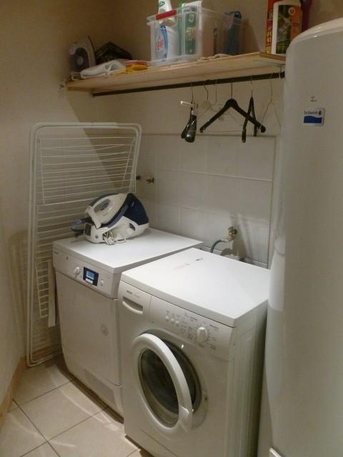 Chalet Les Tournesols Châtel lave-linge