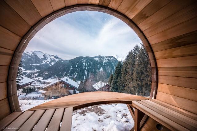 Chalet Spencer jacuzzi Chatel Ski