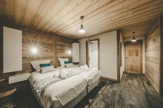 Chalet Whymper chambre twin luxe Chatel