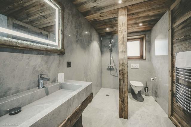 Chalet Whymper salle de bain prestige Chatel