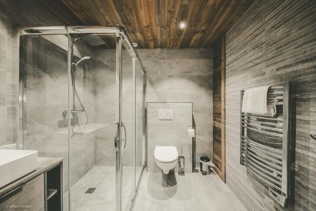 Chalet Whymper salle de bain prestige Chatel 74