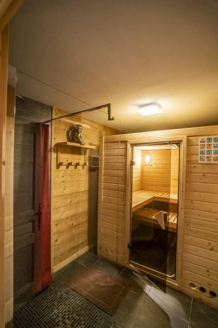 Chatel Etagne Châtel sauna 1