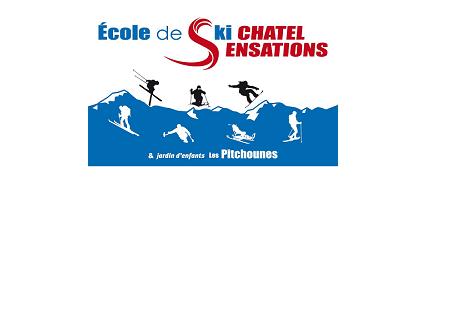 Jardin des pitchounes Ecole de ski Châtel Sensations Linga Châtel