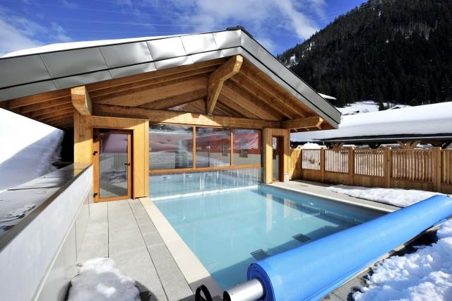 piscine-h-séjour résidence de tourisme Grand Lodge Booking Châtel
