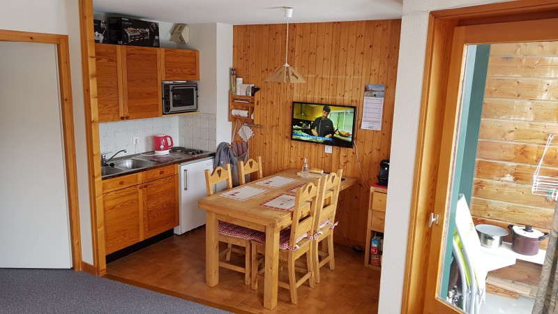 Appartement 4 personnes Les Trifles séjour Châtel