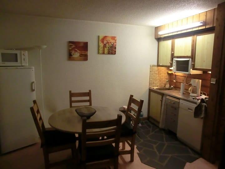 Appartement 69 dans la résidence Yéti Bat 1, Cuisine Châtel Haute Savoie