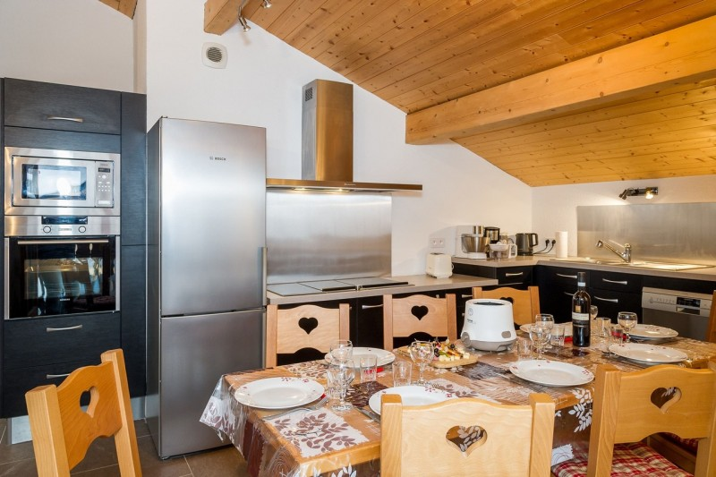 Appartement 7 personnes dans chalet Bernard Châtel 74390