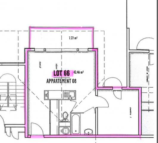 Appartement Armoises 8 Châtel Plan