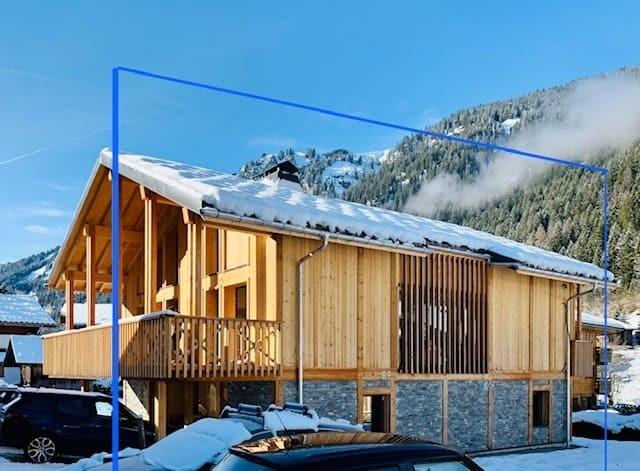 Appartement Chalet Cosy Mountain exterieur Châtel Haute Savoie