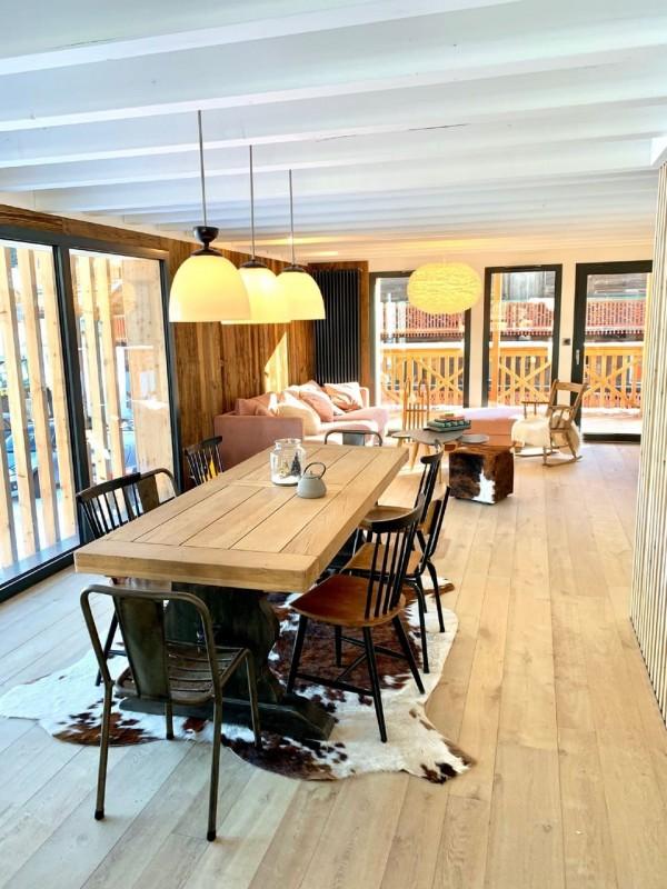 Appartement Chalet Cosy Mountain salle à manger Châtel