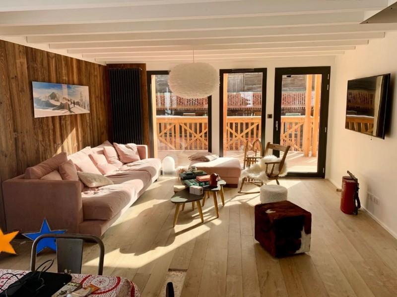 Appartement Chalet Cosy Mountain salon Châtel Haute-Savoie