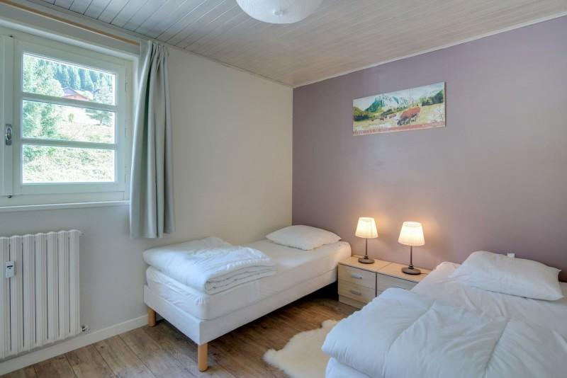 Appartement Chalet des 4 Saisons chambre twin Châtel