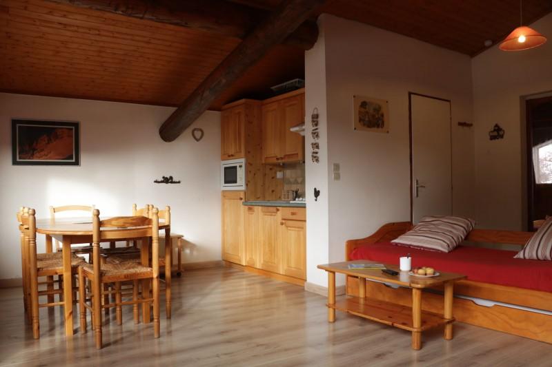 Appartement Choucas Blanc Chamois Séjour Châtel