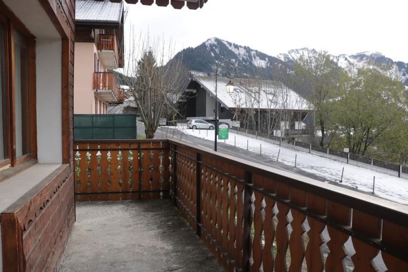 Appartement Choucas Blanc Edelweiss Balcon Châtel