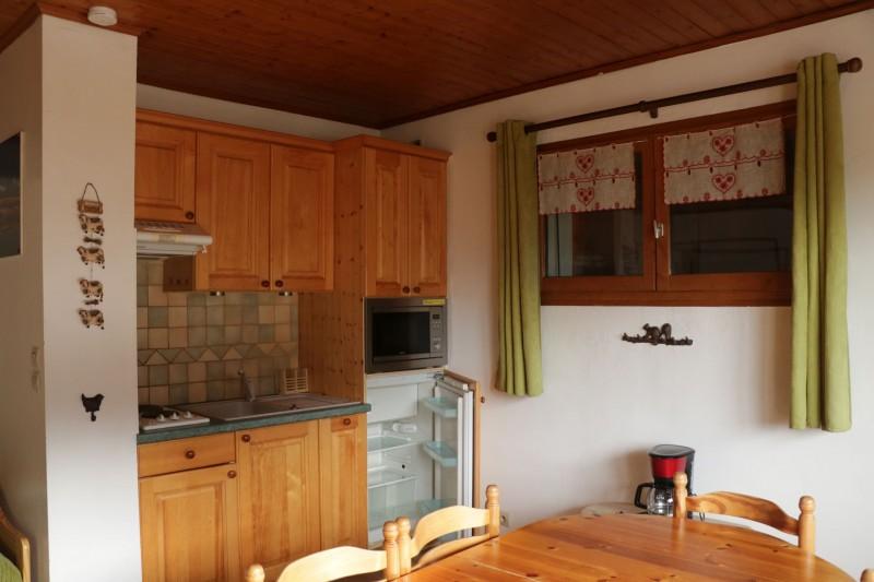 Appartement Choucas Blanc Edelweiss Cuisine Châtel