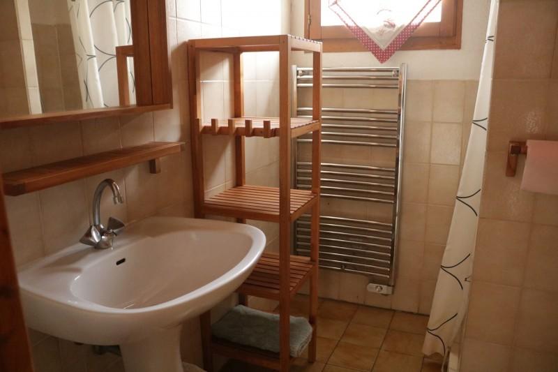 Appartement Choucas Blanc Edelweiss Salle de Douche Châtel