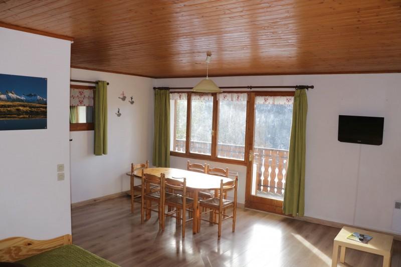 Appartement Choucas Blanc Edelweiss Séjour Châtel 74
