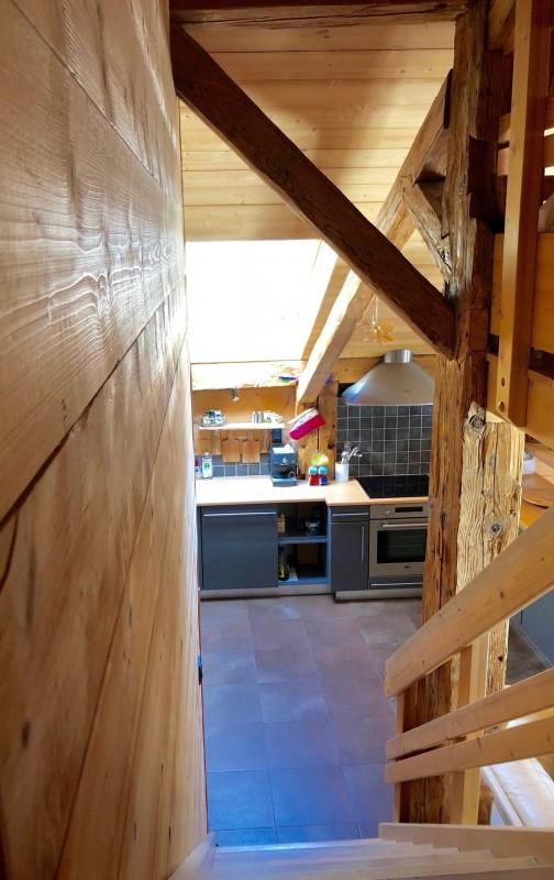 Appartement dans Chalet Ferme Marie Blanche Escalier Châtel