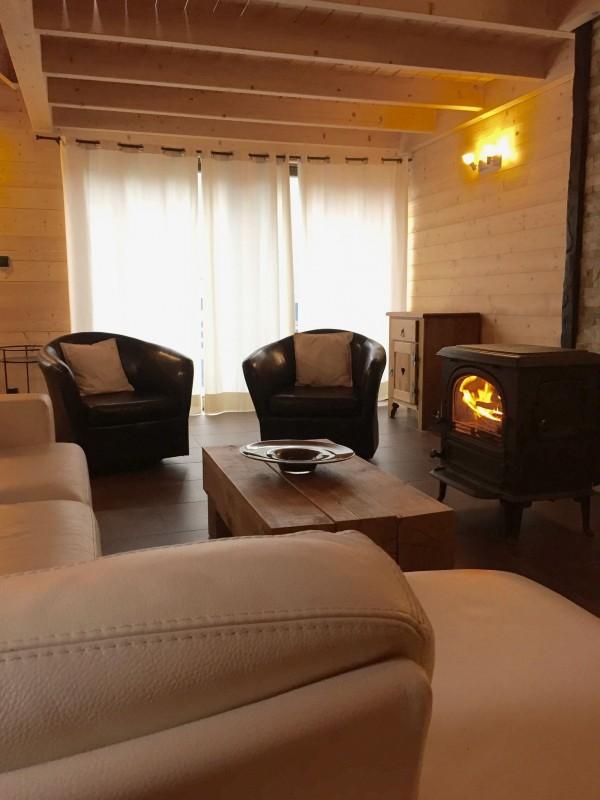 Appartement dans Chalet Ferme Marie Blanche Salon Châtel France