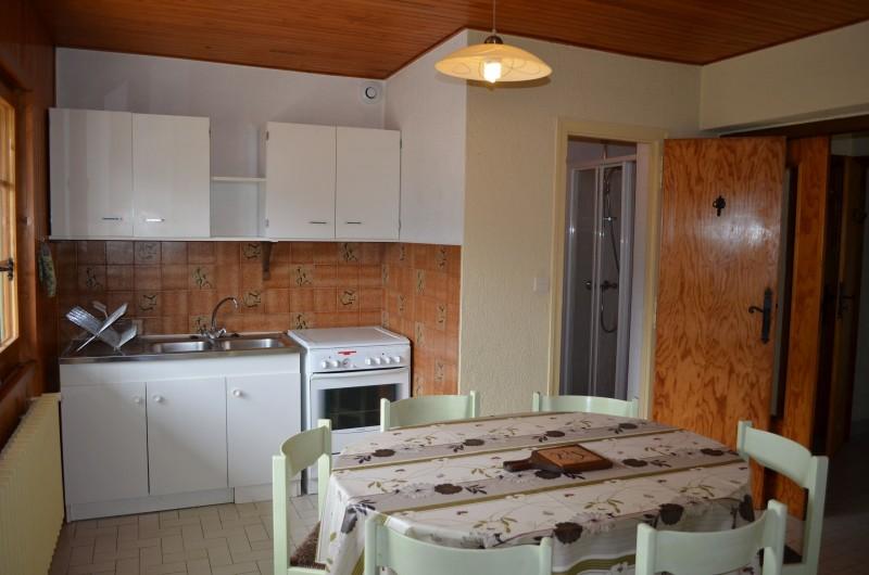 Appartement dans Chalet Grepillat Cuisine Châtel