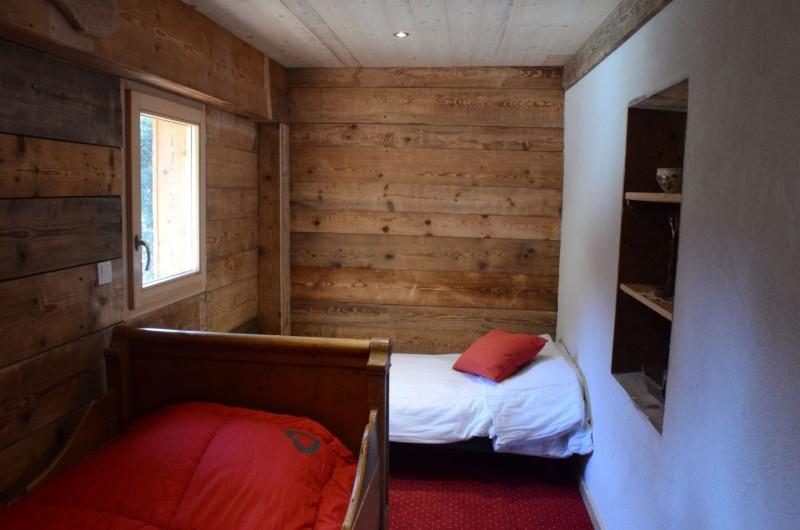 Appartement dans chalet la clairière, Chambre 2 lits simples, Châtel Portes du Soleil
