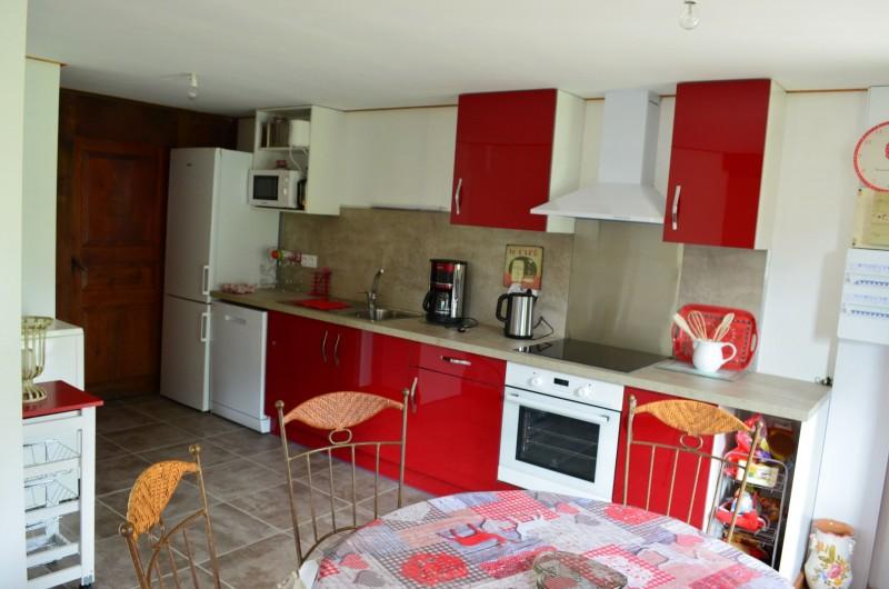 Appartement dans Chalet La Louise Cuisine Châtel