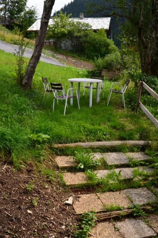 Appartement dans Chalet La Louise Jardin Châtel