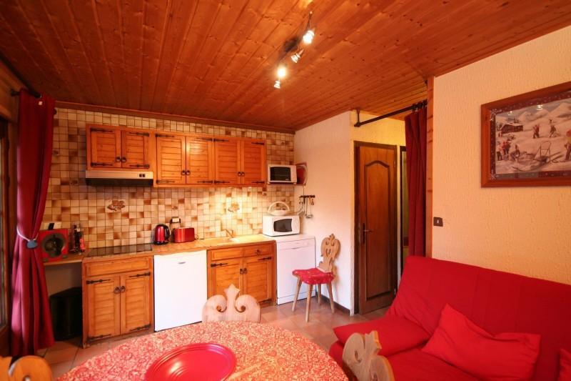 Appartement dans chalet la minaudière, Séjour, Châtel
