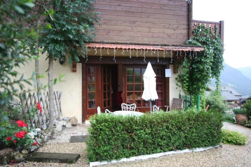 Appartement dans chalet la minaudière, terrasse, Châtel