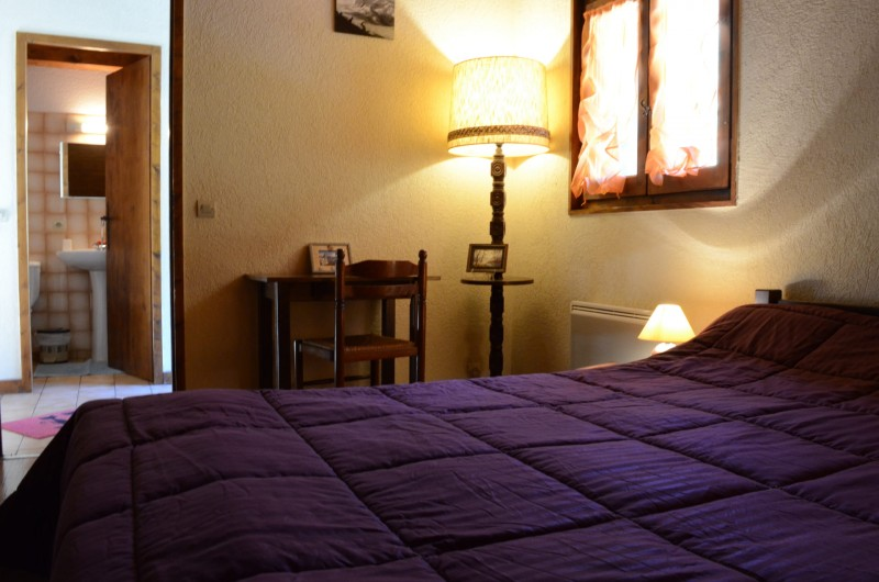Appartement dans chalet le Bivouac, Chambre 1 lit double, Châtel