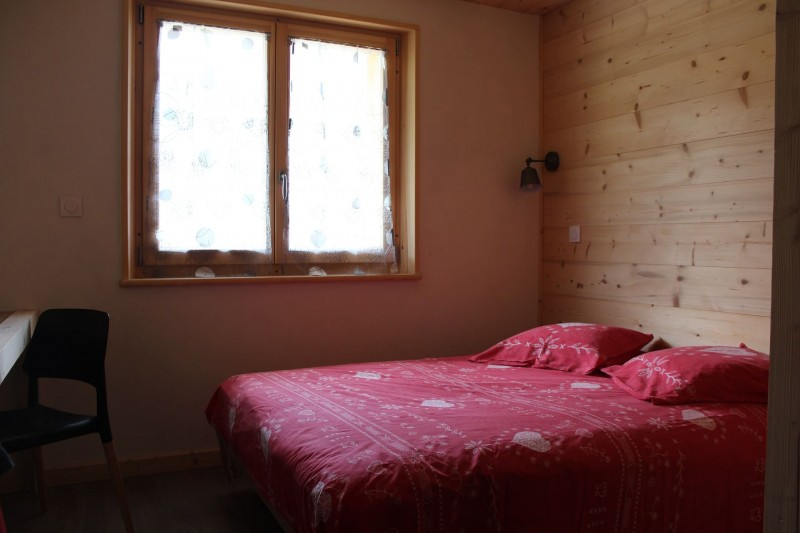 Appartement dans chalet le bois joli été Chambre 1 lit double Châtel Haute Savoie