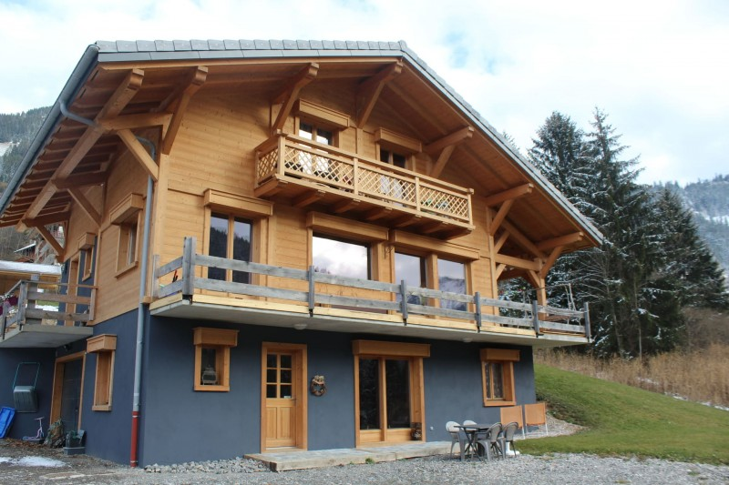 Appartement dans chalet le bois joli été exterieur Châtel alpes du nord