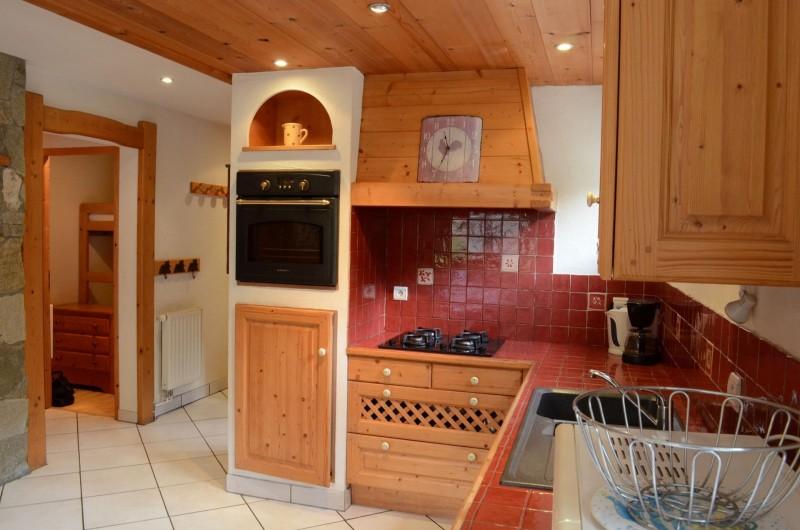 Appartement dans Chalet Le Rocher Savoyard Cuisine Châtel