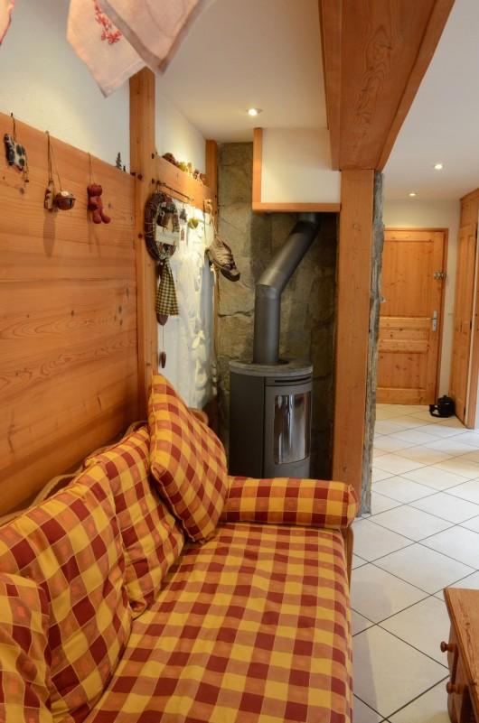 Appartement dans Chalet Le Rocher Savoyard Salon Châtel