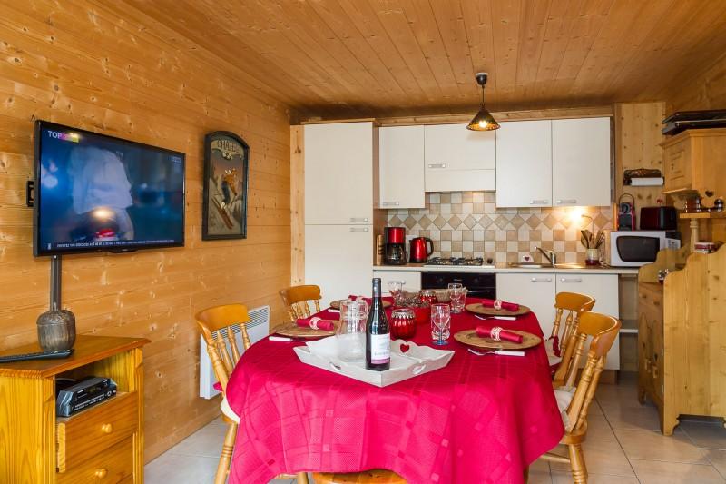 Appartement dans chalet les Clochettes, Cuisine Châtel