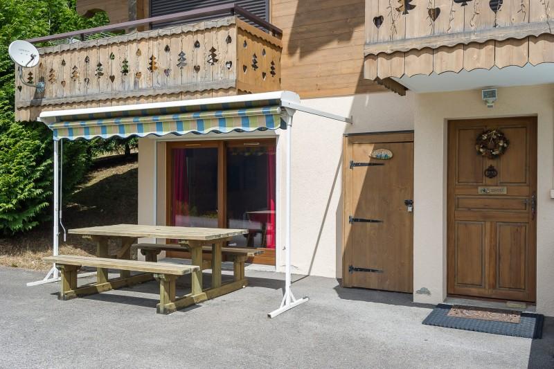 Appartement dans chalet les Clochettes, Extérieur Châtel 2