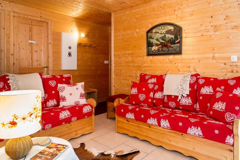 Appartement dans chalet les Clochettes, Salon Châtel 74