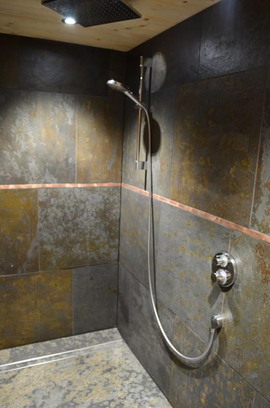 Appartement dans chalet Les Greniers Salle de Douche Châtel 3