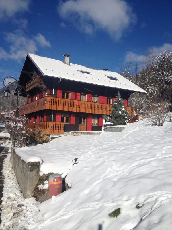 Appartement dans Chalet Les Pivottes 2 Extérieur Châtel hiver