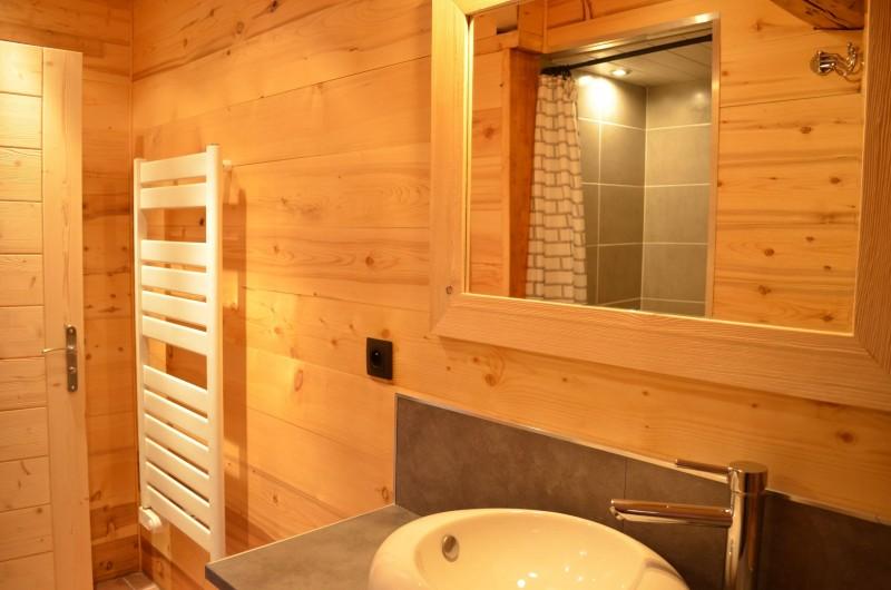Appartement dans Chalet Les Pivottes 2 Salle de Douche Châtel