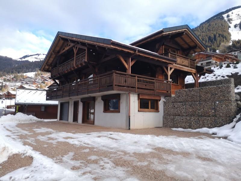 Appartement dans chalet Roméo, le Chalet en hiver, Châtel Haute Savoie