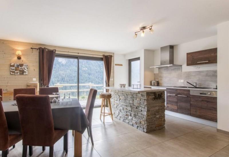 Appartement la Belette Salle à manger Châtel Haute Savoie