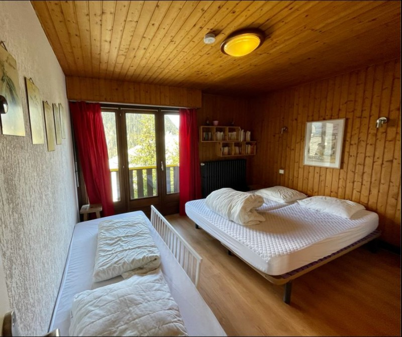 Appartement La Chouta 4  Châtel chambre double 2